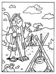abraham and isaac coloring page abraham offers isaac coloring page sunday patriarchs