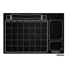 black friday 2016 amazon vinyl amazon com large erasable chalkboard calendar wall decal sticker