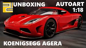koenigsegg agera red unboxing koenigsegg agera 1 18 autoart red limited edition youtube