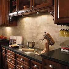 Cherry Cabinetscream Tile Backsplash Dark Countertops Love - Backsplash for cherry cabinets