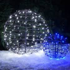 blue white christmas lights blue led hanging light sphere gorgeous idea for parties and events