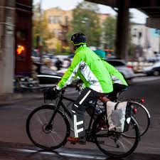 cycling spray jacket a jacket that u0027s visible to the distracted eye gearminded