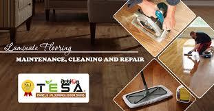 laminate flooring maintenance cleaning and repair tesa