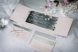 Foil Wedding Invitations Silver Foil Stamped Wedding Invitations Impressions U2013 Custom