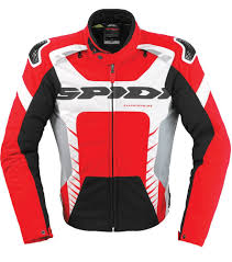 red motorcycle jacket 224 06 spidi sport mens warrior tex armored textile 218181