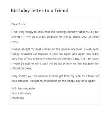 free sle birthday wishes happy birthday letter to my best friend 52 best birthday wishes