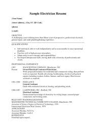 exles of electrician resumes imposingesume for electrician electrical apprentice printable