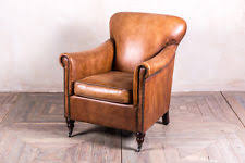 Traditional Leather Armchairs Uk Leather Vintage Retro Armchairs Ebay