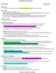 Sample Resume For Fresher Mechanical Engineering Student by Resume Financial Modelling Resume Sample For Cv Format Ismael