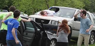 crash u0027 course at warde drunken distracted driving dangers