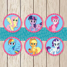 my pony cupcake toppers 22 best my pony party images on birthday party