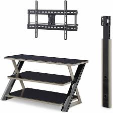 Tv Stands For Flat Screen Tvs Whalen 3 In 1 Flat Panel Tv Stand For Tvs Up To 50