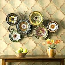 make your own hanging l awesome decorative plate rack for wall gallery wall art design