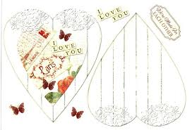 foil play debbi moore designs shabby chic love card toppers 11