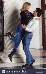 romantic couple dancing together country western style miami