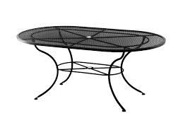 arlington house jackson oval patio dining table oval wrought iron patio furniture 28 images wrought iron 1950s