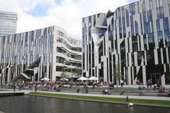 architektur dã sseldorf bogen in central park lizenzfreies stockbild bild 20557106