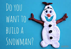 olaf salt dough ornament the educators spin on it