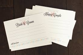 words of wisdom for and groom cards amour wedding advice guest madlibs amour