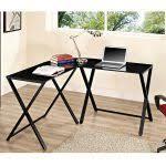 Black Glass Computer Desk Black Glass Computer Desk Awesome Modern Design Black Glass
