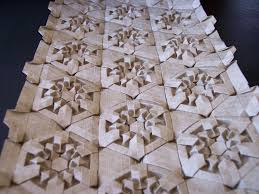 Origami Tessalation - labrynth and snowstorm tessellations flotsam and origami jetsam