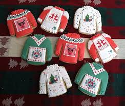 97 best ugly sweater cookies images on pinterest ugly christmas