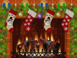 christmas fireplace images free fireplace design and ideas