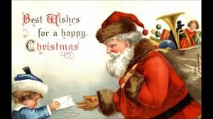 merry christmas animated greeting card wishes santa claus greeting