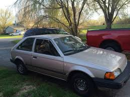 curbside classic 1988 mazda 323 u2013 a better little and very basic