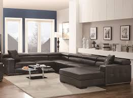 U Shaped Sectional Sofa U Shaped Sectional Sofa With Chaise Leather All About House Design
