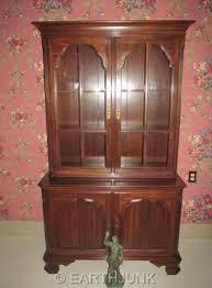 ethan allen china cabinet ethan allen china cabinet crown glass cherry wood georgian court 11