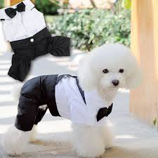 dog wedding dress handsome pet dog wedding dress clothes for small dog suit puppy