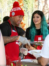 jenner and tyga further fuel dating rumours as they serve