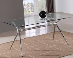 furniture cute modern glass dining table flori extension glass