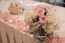 White Centerpieces Hyatt Huntington Beach Wedding By John Park 20 Head Table Me