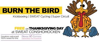 thanksgiving m burn the bird thanksgiving workout for the denise m cotteta