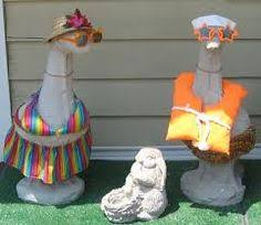image result for tacky lawn ornaments a shrine to tacky lawn