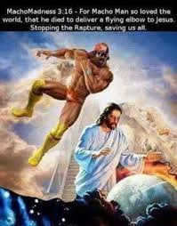 Macho Man Randy Savage Meme - thanks macho man randy savage meme by cryingostrich memedroid