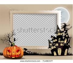 halloween grunge frame background download free vector art