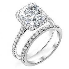 wedding cut rings images Bridal wedding ring sets jpg