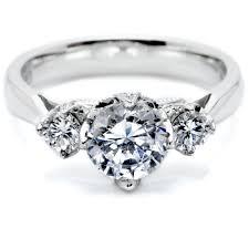 diamond stone rings images Unique three stone diamond ring wedding promise diamond jpg