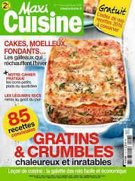 maxi cuisine recette maxi cuisine n 113 du 02 janvier 2017 à télécharger sur