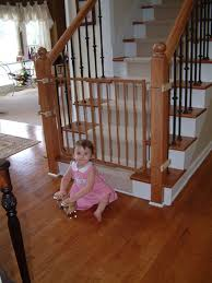Safety Gate For Stairs With Banister Stairway Special Safety Gate Baby Gates Cardinal Gates