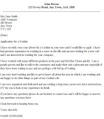 cover letter that is special for cover letter for cashier cover