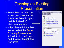 create powerpoint template from existing presentation how to