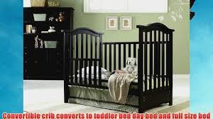 Bonavita Convertible Cribs by Bonavita Hudson Classic Convertible Crib Classic Cherry Video