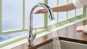 touchless faucet kitchen touchless kitchen faucet best touchless motion sensor powered pull