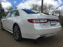 lincoln 2017 white new 2017 lincoln continental 4 door car in edmonton ab 7lc4196