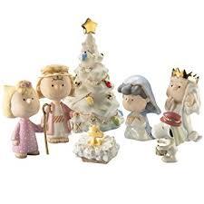 lenox nativity peanuts the pageant snoopy
