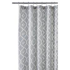 Home Decorators Curtains Gray Standard Shower Curtains Shower Accessories The Home